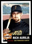 2002 Topps Heritage #109  Rich Aurilia  Front Thumbnail
