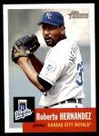 2002 Topps Heritage #106  Roberto Hernandez  Front Thumbnail