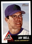 2002 Topps Heritage #176  Jay Bell  Front Thumbnail