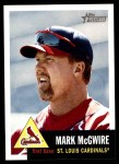2002 Topps Heritage #36  Mark McGwire  Front Thumbnail