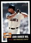 2002 Topps Heritage #170  John Vander Wal  Front Thumbnail