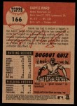 2002 Topps Heritage #166  Daryle Ward  Back Thumbnail