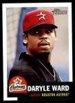 2002 Topps Heritage #166  Daryle Ward  Front Thumbnail