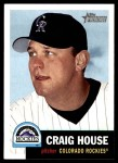 2002 Topps Heritage #177  Craig House  Front Thumbnail