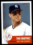 2002 Topps Heritage #77  Tino Martinez  Front Thumbnail