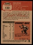 2002 Topps Heritage #132  Todd Ritchie  Back Thumbnail
