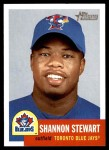 2002 Topps Heritage #137  Shannon Stewart  Front Thumbnail