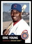 2002 Topps Heritage #9  Eric Young  Front Thumbnail