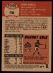 2002 Topps Heritage #46  Bobby Bonilla  Back Thumbnail