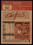 2002 Topps Heritage #161  Cesar Izturis  Back Thumbnail