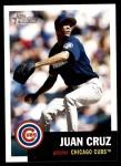 2002 Topps Heritage #50  Juan Cruz  Front Thumbnail