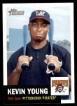 2002 Topps Heritage #165  Kevin Young  Front Thumbnail