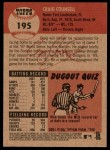 2002 Topps Heritage #195  Craig Counsell  Back Thumbnail