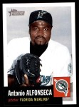 2002 Topps Heritage #40  Antonio Alfonseca  Front Thumbnail