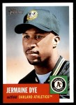2002 Topps Heritage #128  Jermaine Dye  Front Thumbnail