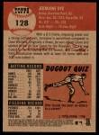 2002 Topps Heritage #128  Jermaine Dye  Back Thumbnail