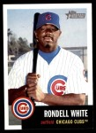 2002 Topps Heritage #168  Rondell White  Front Thumbnail