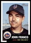 2002 Topps Heritage #115  John Franco  Front Thumbnail