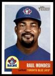 2002 Topps Heritage #97  Raul Mondesi  Front Thumbnail