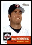 2002 Topps Heritage #4  Doug Mientkiewicz  Front Thumbnail