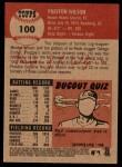 2002 Topps Heritage #100  Preston Wilson  Back Thumbnail