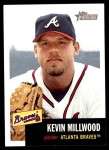2002 Topps Heritage #134  Kevin Millwood  Front Thumbnail