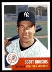 2002 Topps Heritage #43  Scott Brosius  Front Thumbnail