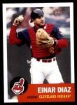 2002 Topps Heritage #76  Einar Diaz  Front Thumbnail