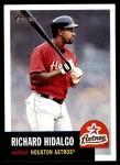 2002 Topps Heritage #198  Richard Hidalgo  Front Thumbnail