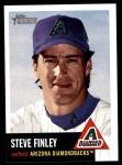 2002 Topps Heritage #21  Steve Finley  Front Thumbnail