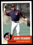 2002 Topps Heritage #85  Henry Pichardo  Front Thumbnail