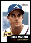 2002 Topps Heritage #147  Greg Maddux  Front Thumbnail