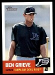 2002 Topps Heritage #52  Ben Grieve  Front Thumbnail
