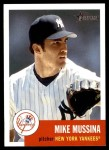 2002 Topps Heritage #26  Mike Mussina  Front Thumbnail