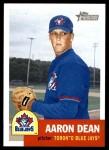 2002 Topps Heritage #173  Aaron Dean  Front Thumbnail