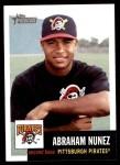 2002 Topps Heritage #93  Abraham Nunez  Front Thumbnail