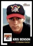 2002 Topps Heritage #113  Kris Benson  Front Thumbnail