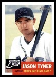 2002 Topps Heritage #7  Jason Tyner  Front Thumbnail