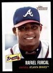 2002 Topps Heritage #25  Rafael Furcal  Front Thumbnail