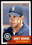 2002 Topps Heritage #150  Bret Boone  Front Thumbnail