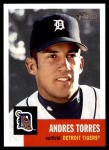 2002 Topps Heritage #144  Andres Torres  Front Thumbnail