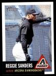 2002 Topps Heritage #55  Reggie Sanders  Front Thumbnail