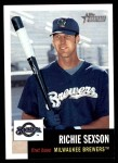 2002 Topps Heritage #95  Richie Sexson  Front Thumbnail