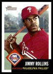 2002 Topps Heritage #30  Jimmy Rollins  Front Thumbnail