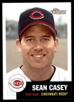 2002 Topps Heritage #162  Sean Casey  Front Thumbnail