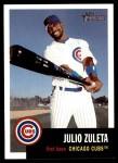 2002 Topps Heritage #192  Julio Zuleta  Front Thumbnail