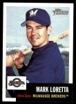 2002 Topps Heritage #130  Mark Loretta  Front Thumbnail