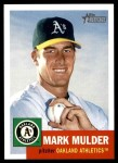 2002 Topps Heritage #20  Mark Mulder  Front Thumbnail