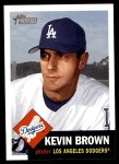 2002 Topps Heritage #51  Kevin Brown  Front Thumbnail