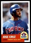 2002 Topps Heritage #212  Jose Cruz Jr.  Front Thumbnail